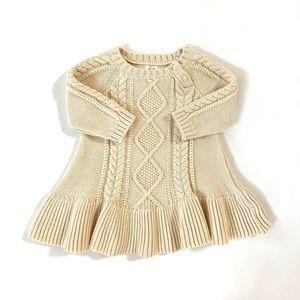 GAP Baby Girl Sweater Dress